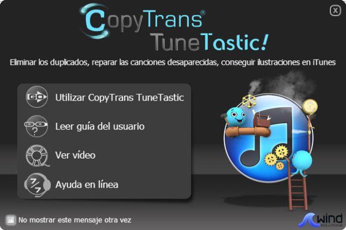 CopyTrans TuneTastic