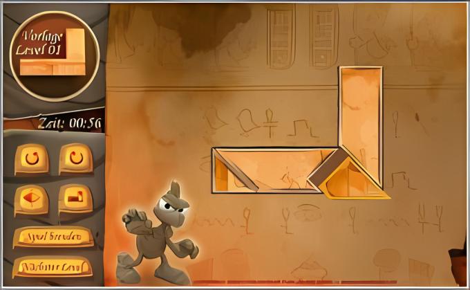 HIQU Moorhuhn – Das Spiel der Pharaonen