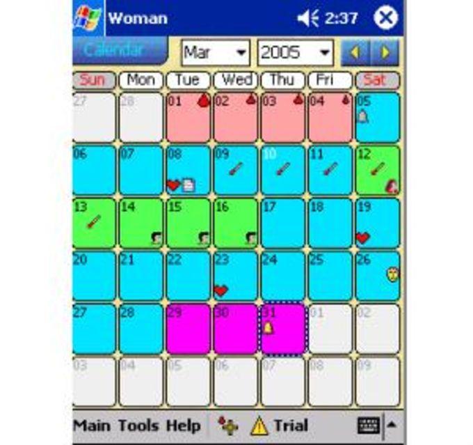 Woman Calendar