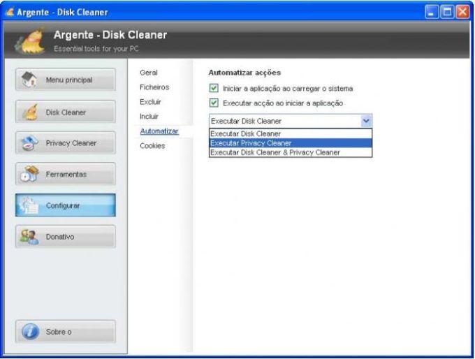 Argente - Disk Cleaner