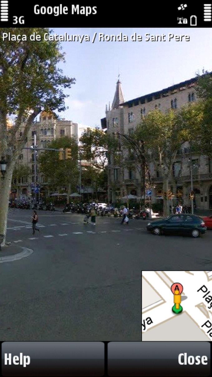 Google Street View Barcelona