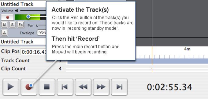 MixPad Professional Audio Mixer for Mac