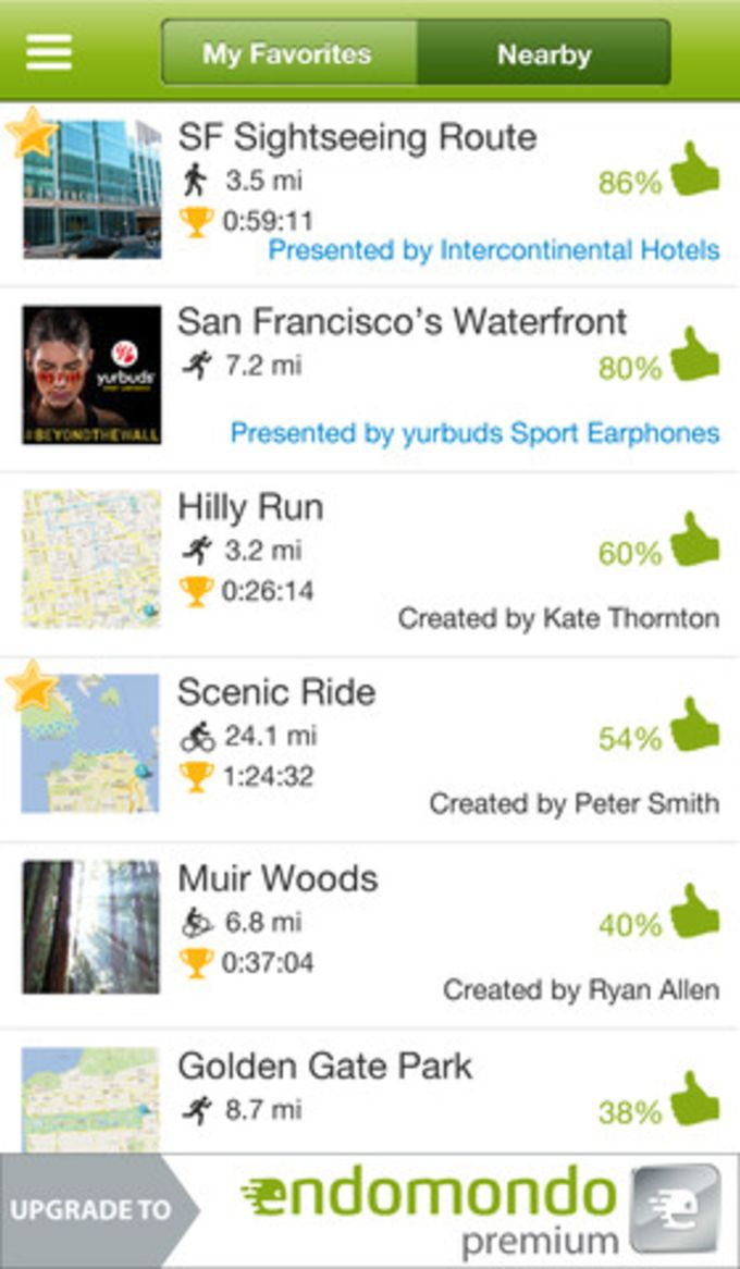 Endomondo Sports Tracker