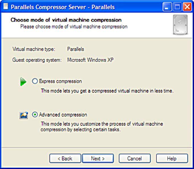 Parallels Compressor Server