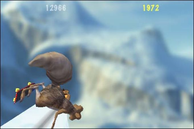 Ice Age Dawn of the Dinosauers Scrat's Skate Park