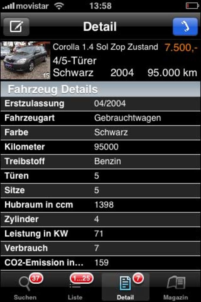 AutoScout 24 to go