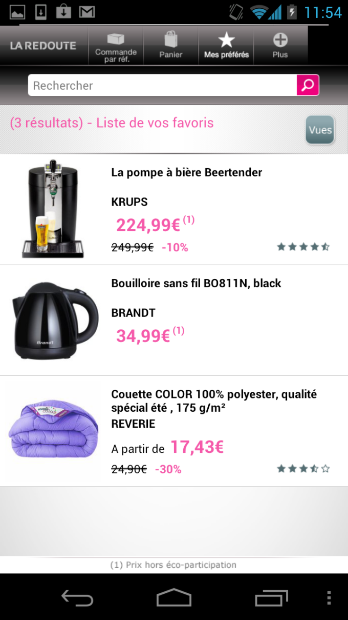 La redoute fr pour android t l charger - Commander catalogue la redoute ...