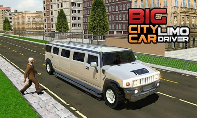 Big City Limo Car Driving