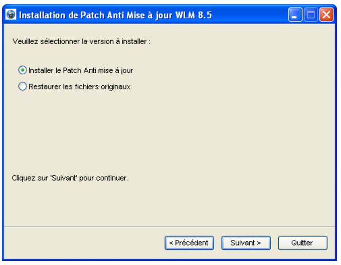 Anti-actualización para Windows Live Messenger 8.5