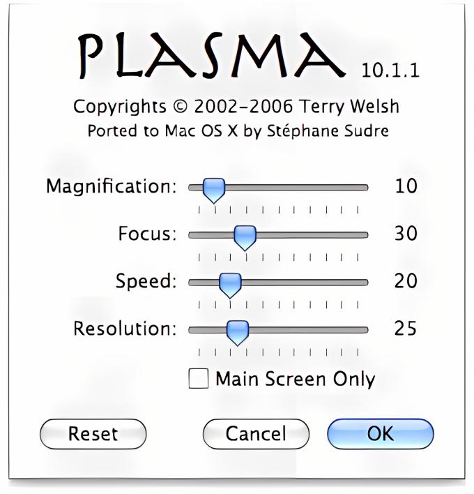 Plasma Screensaver
