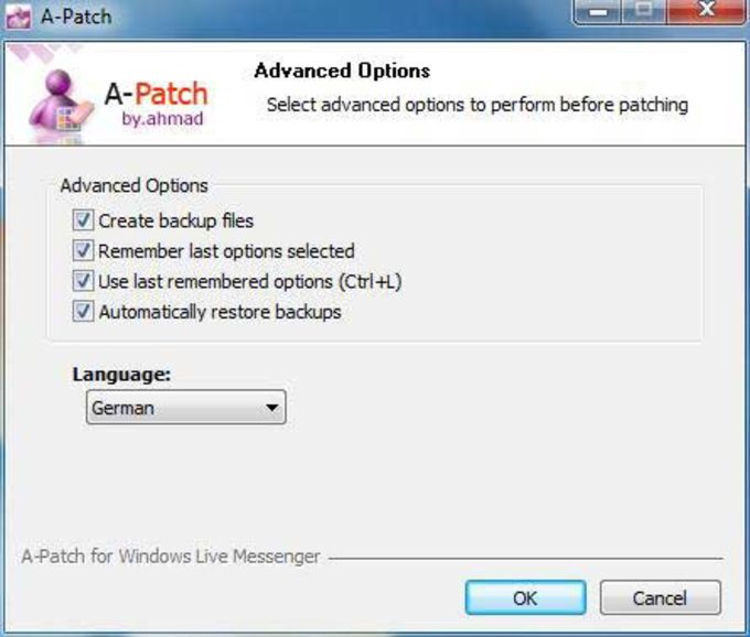 A-Patch For Windows Live Messenger 2011