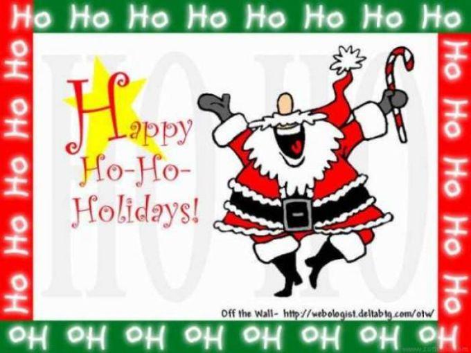 Happy Ho-Ho-Holidays!