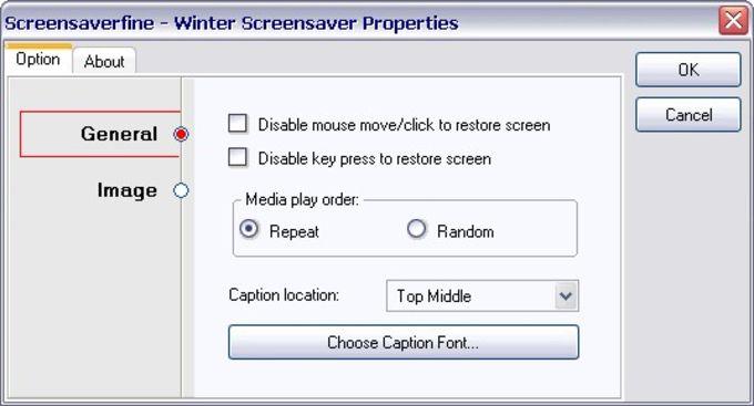 Free Winter Screensaver