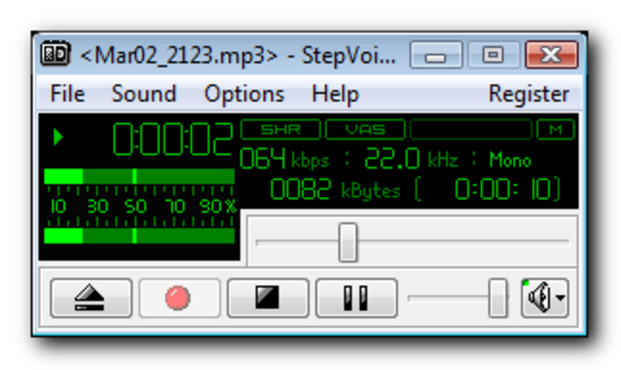 StepVoice Recorder