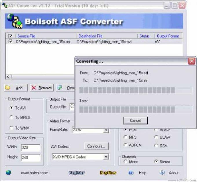 ASF Converter