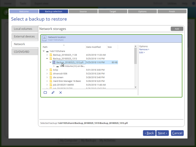 Paragon Backup & Recovery 17 Free