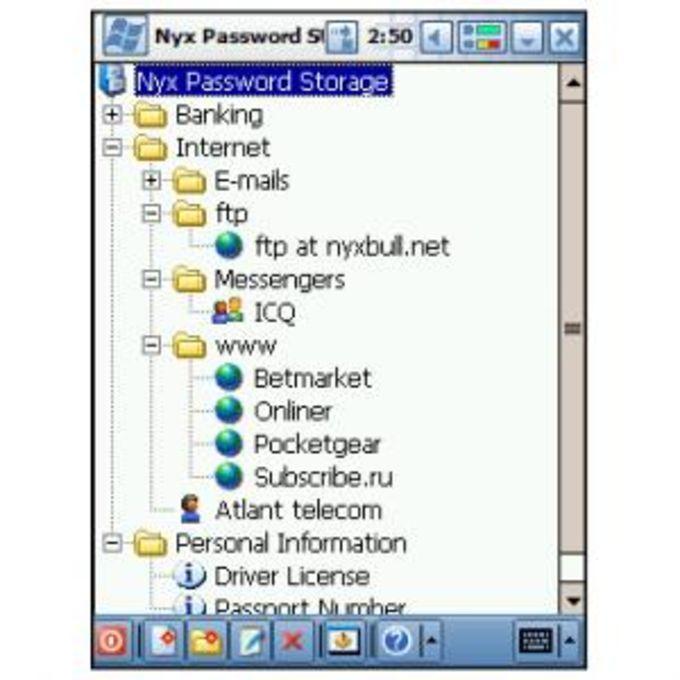Nyx Password Storage