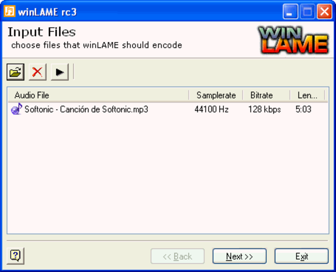 winLAME Portable
