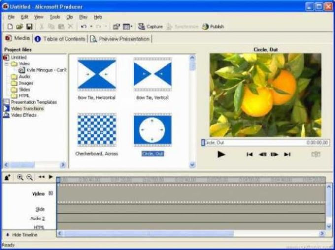 Microsoft Producer for PowerPoint 2002