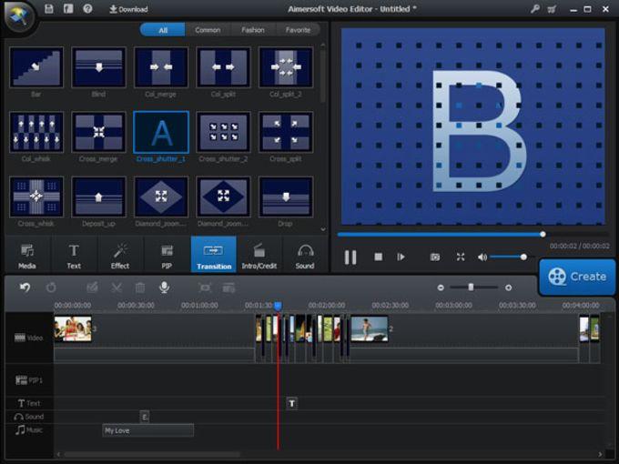 Aimersoft Video Editor