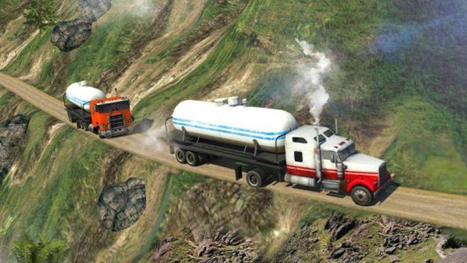 Oil Tanker Truck Simulator: Hill Climb Driving