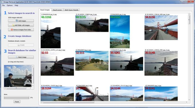 Image Retrieval Application