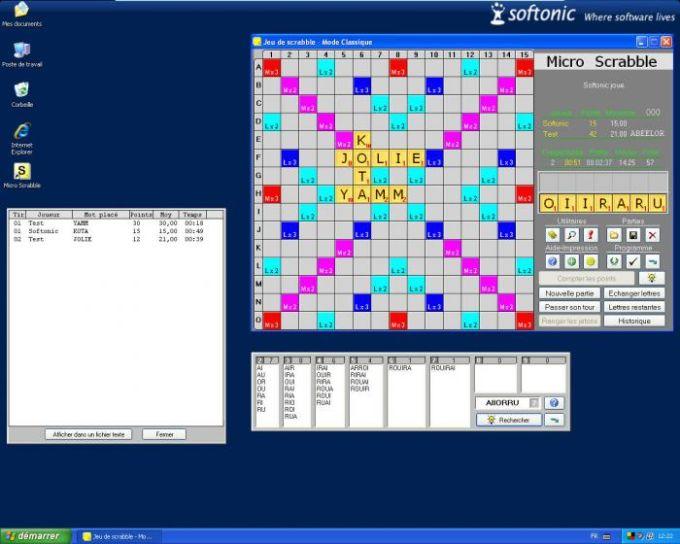 Micro Scrabble