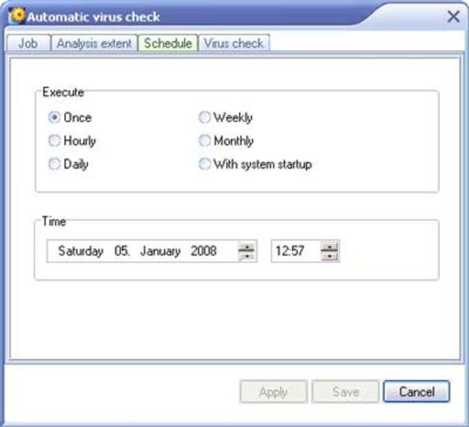 eScan Virus Control