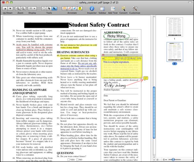 edit pdf files like a word processor on mac
