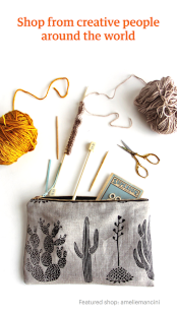 Etsy: Handmade & Vintage Goods