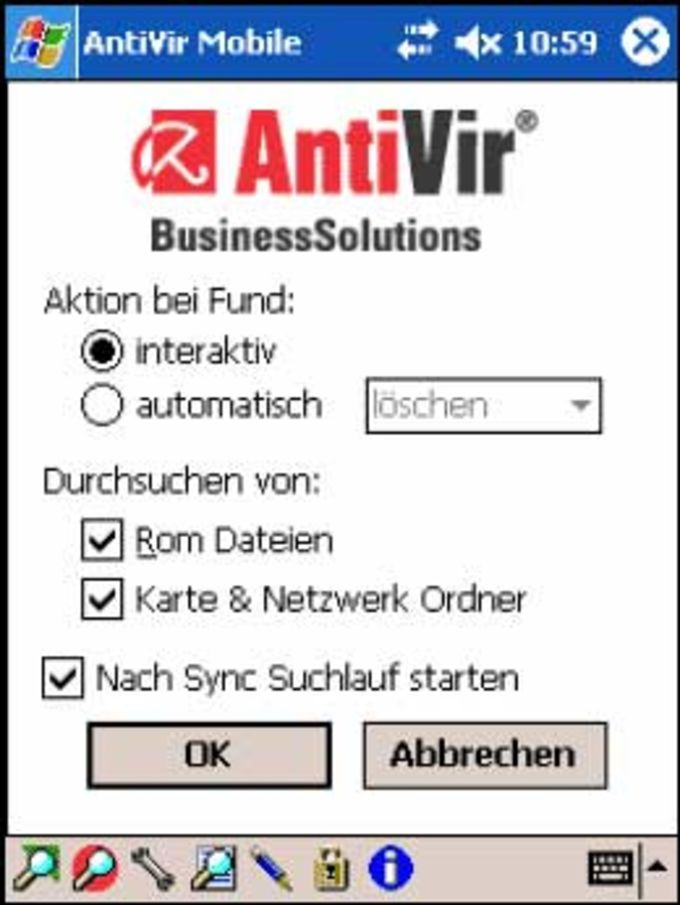 Avira AntiVir mobile
