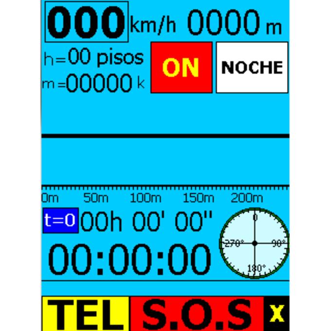 Pocket GPS Triphelper Auto-SOS-Dialer