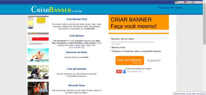 Criar Banner