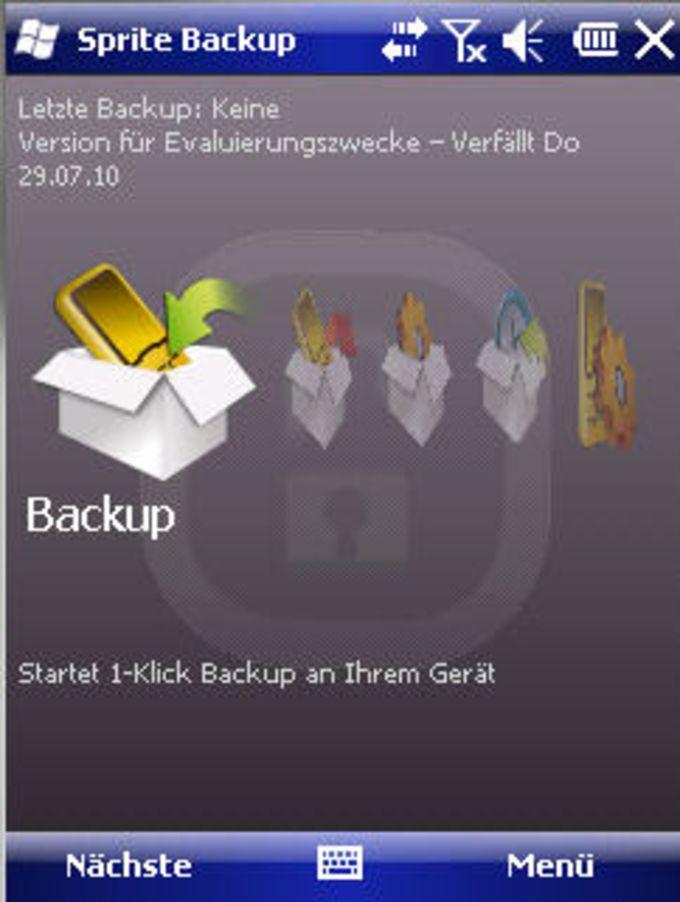 Sprite Backup