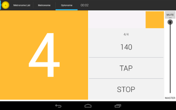 Drummer's metronome for android download.