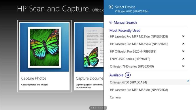 HP Scan und Capture für Windows 10