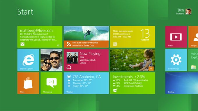 Windows 8 Developer Preview with developer tools