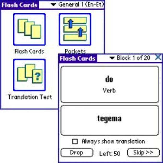 ECTACO FlashCards English - Estonian