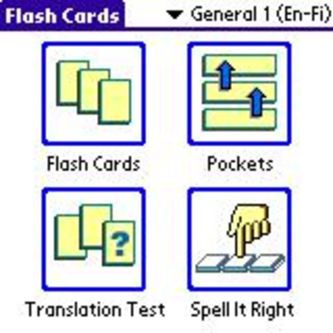 ECTACO FlashCards English - Finnish