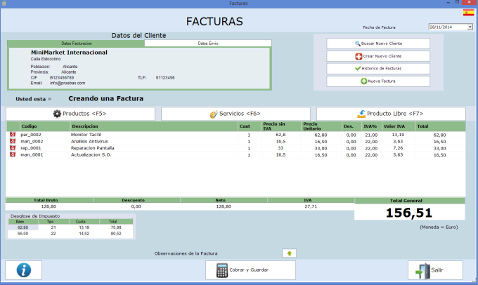 CRM Facturacion Pymes