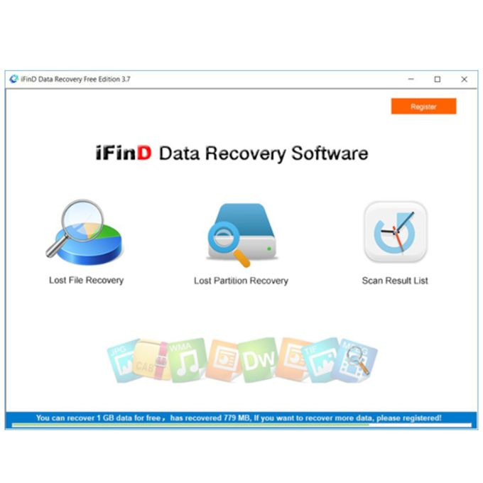 iFinD Data Recovery Free Edition