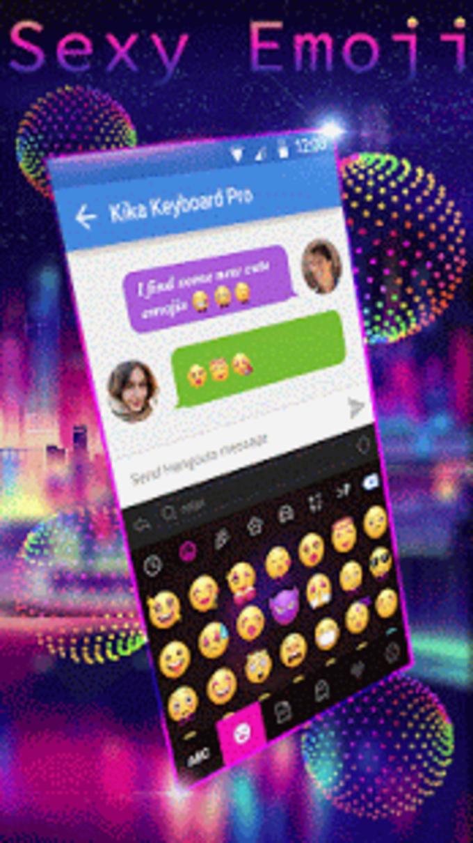 Sexy Emoji for Kika Keyboard