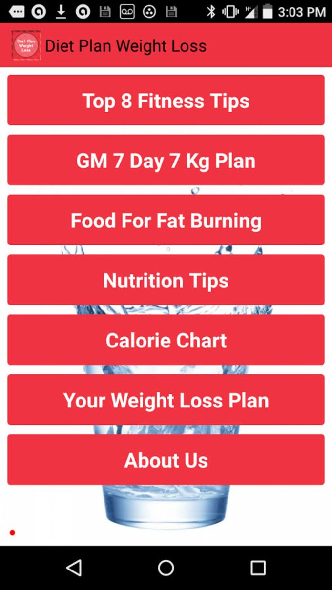 Weight Loss Diet Plan