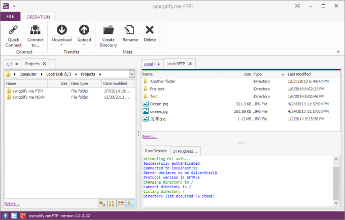 Syncplify.me FTP!