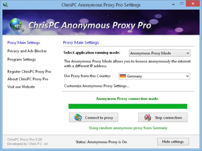 3.50 ANONYMOUS CHRISPC TÉLÉCHARGER FREE PROXY