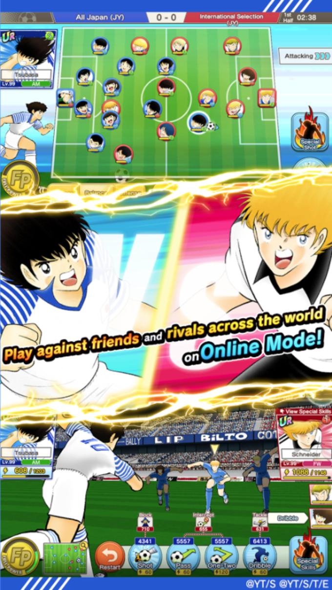 Captain tsubasa dream team per iphone download