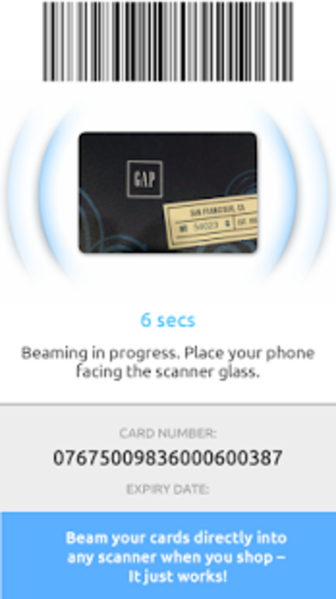 Beaming Service for Samsung