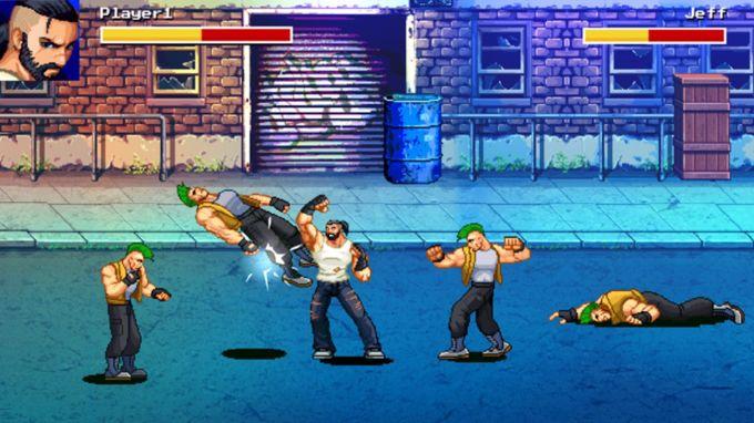 Street Fighting King Boxing