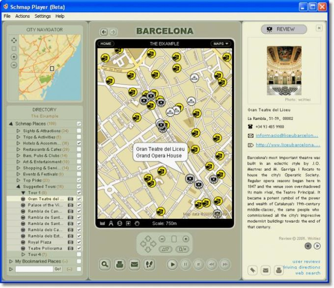 Schmap Player