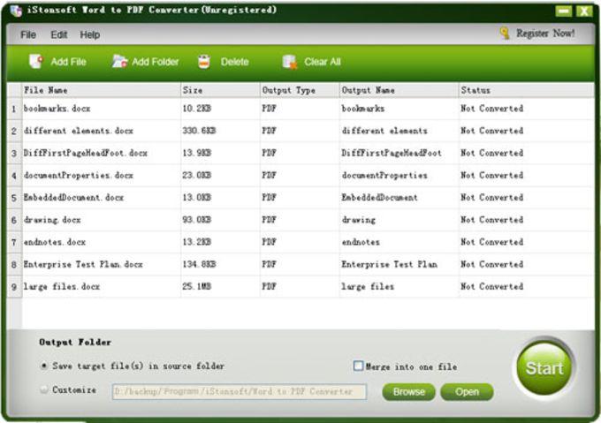 iStonsoft Word to PDF Converter